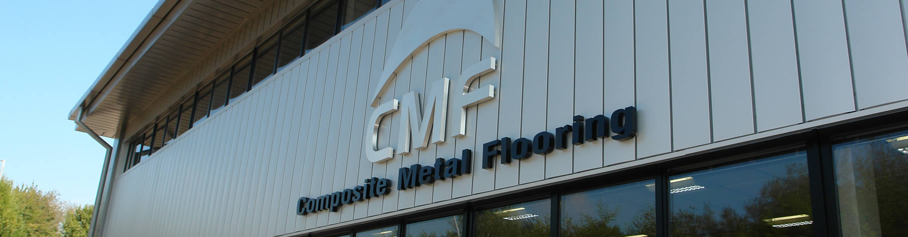Front view of CMF HQ